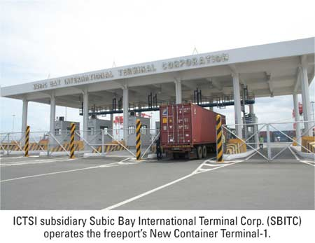 Ictsi Subic Terminal Rolls Out New Gate System Ajot Com