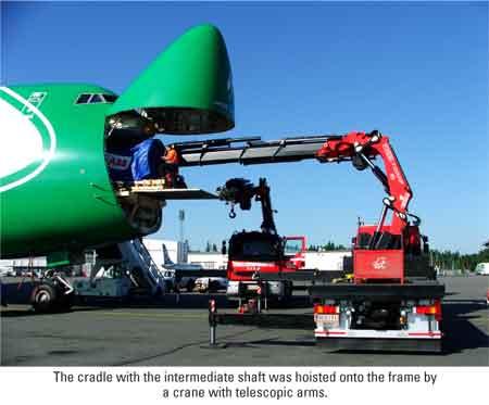 Lufthansa Cargo Charter organizes record-breaking load