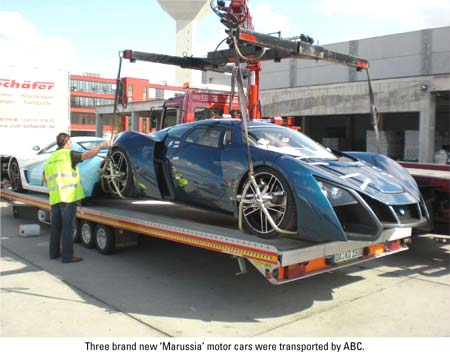 abc sports car loading