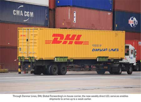LCL DHL Danmar