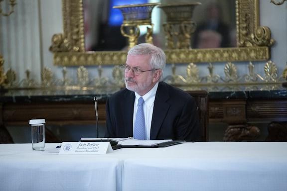 President and Chief Executive Joshua Bolten