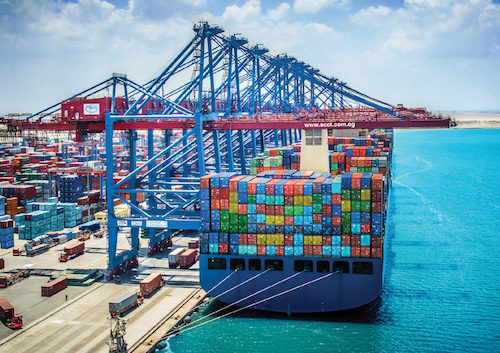 SCCT terminal benefits from opening of Suez Canal Access Channel
