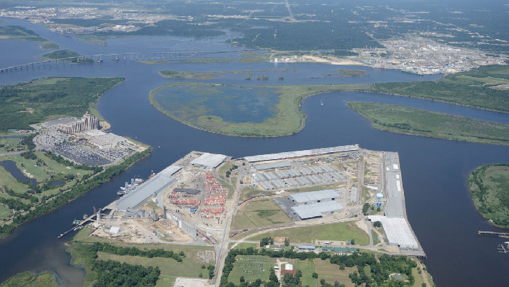 Port of Lake Charles is enhancing cargo-handling capacity and efficiencies.
