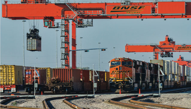 From Road to Ramp in half the time - BNSF RailPass | AJOT COM