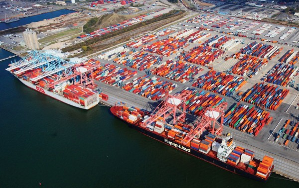 The Port of Virginia's Norfolk International Terminals facility is undergoing a $350 million capacity expansion thanks to funding from the Virginia General Assembly.
