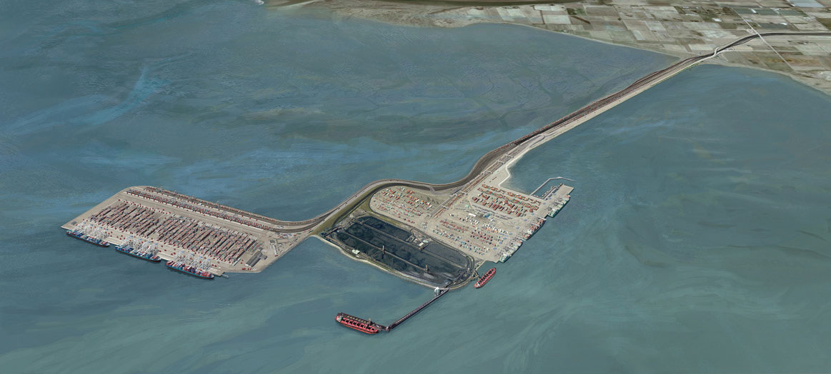 The proposed Roberts Bank Terminal 2 Project