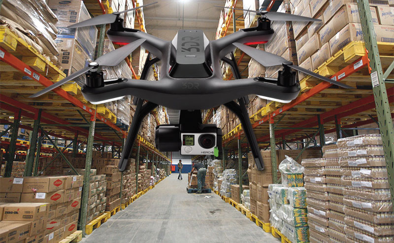 Wal-Mart testing warehouse drone to catalog and manage inventory