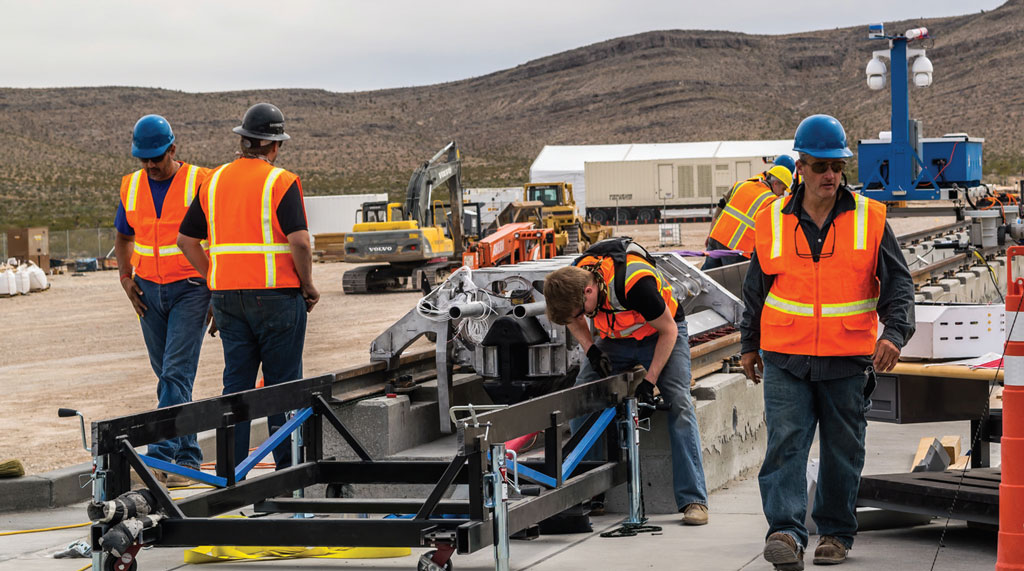 Hyperloop One, the first company to attempt to bring the technology to the marketplace, recently set up its first production facility in North Las Vegas, Nevada, where it will be building a Hyperloop prototype for trial runs early next year.