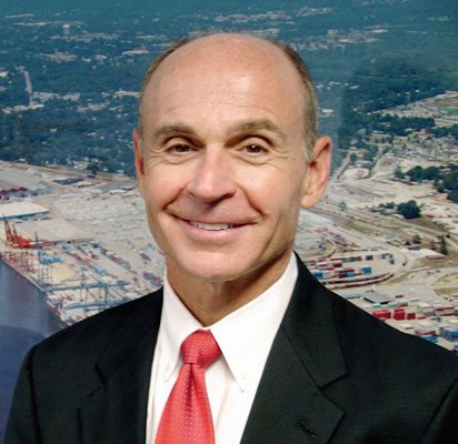 North Carolina State Ports Authority Executive Director Paul J. Cozza sees the Port of Wilmington poised for its best years ever. (Photo by Paul Scott Abbott, AJOT)