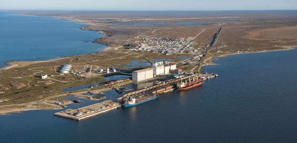 Canada's only Arctic deep-water port, the Port of Churchill