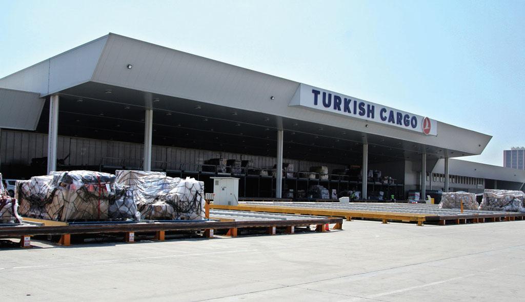 Turkish Cargo's air freight terminal at Atatürk Istanbul International Airport