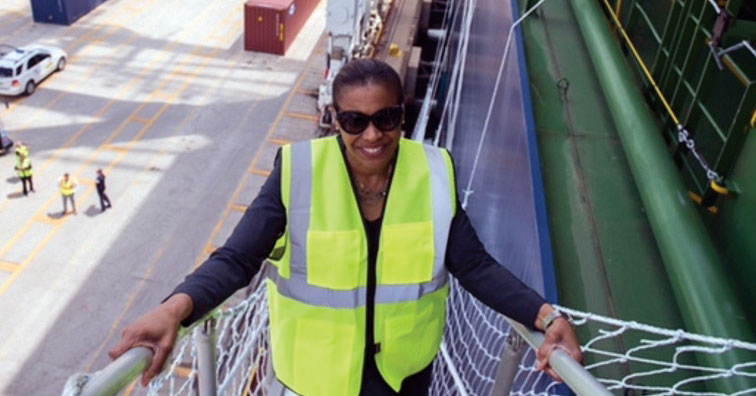 Since coming aboard as director of the Port of New York & New Jersey in July 2015, Molly Campbell has been impressed with the capabilities and enthusiasm of her new colleagues.