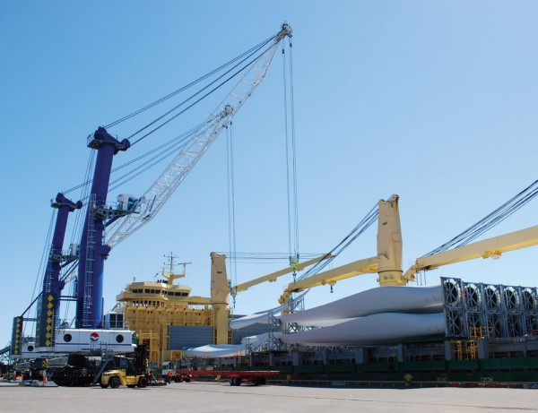 Imported wind energy components are a growing opportunity for the Port of Vancouver USA