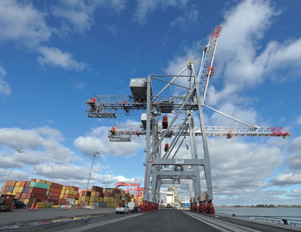 Viau Container Terminal will boost Montreal's handling capacity to 2.1 million TEU. (Photo: Port of Montreal)
