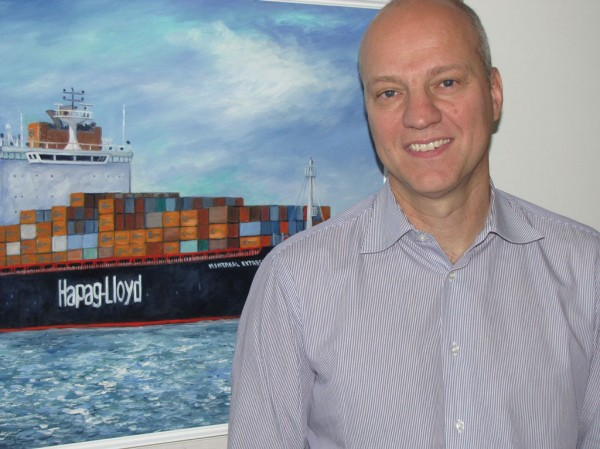 Wolfgang Schoch, managing director of Hapag-Lloyd (Canada) Inc.