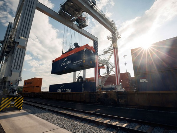 Intermodal rail activity is picking up at the Georgia Ports Authority's Appalachian Regional Port, the first of an envisioned network of GPA inland hubs.