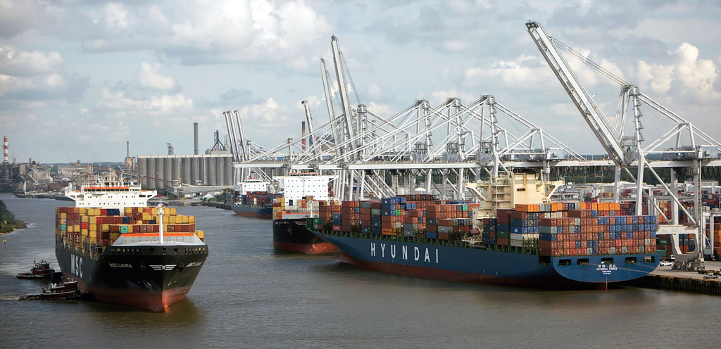 Port Of Savannah Prepares To Handle More Mega Containerships With Ease Ajot Com