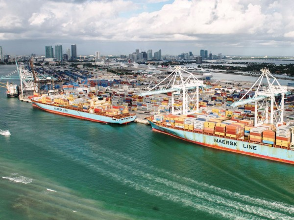 With its 50-foot-deep channel and super-post-Panamax cranes, PortMiami is poised to handle megacontainerships that transit the expanded Panama Canal.