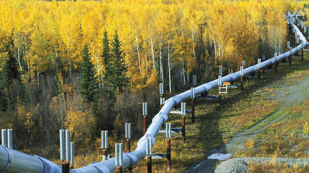 Part of a network of pipelines that will make-up the Keystone XL.