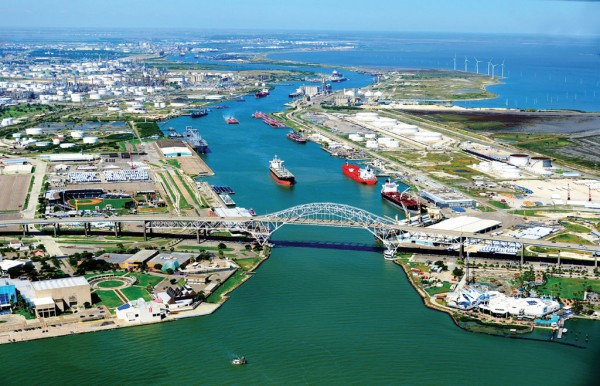 Advancing as The Energy Port of the Americas, Port Corpus Christi is poised to go to 54-foot channel depth and see its Harbor Bridge replaced with a taller span.