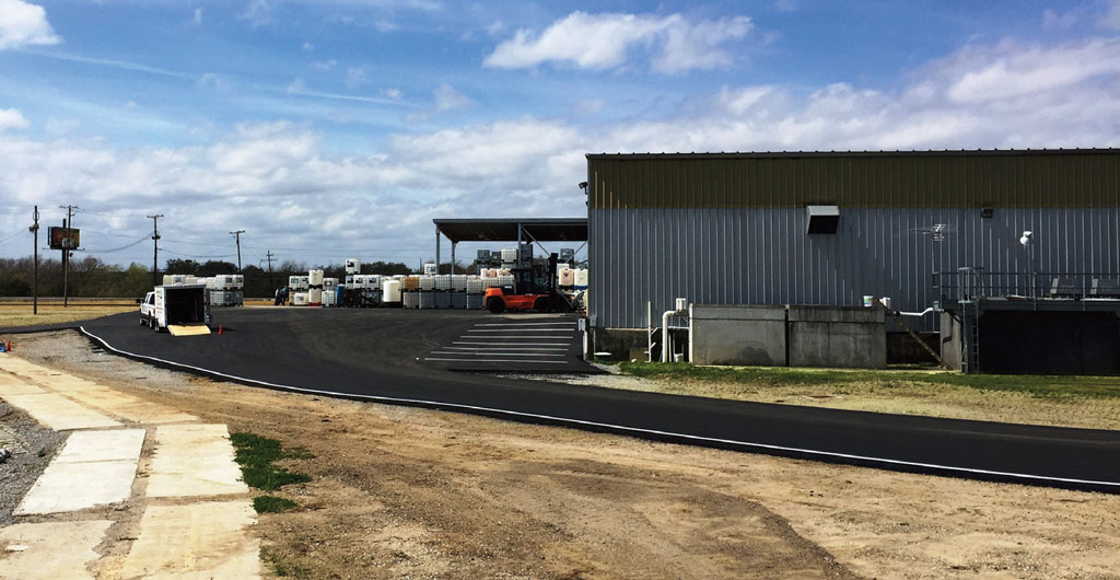 Improvements at the Port Manchac intermodal terminal aim to accommodate 24/7 transloading, with an eye toward future container shipment operations.