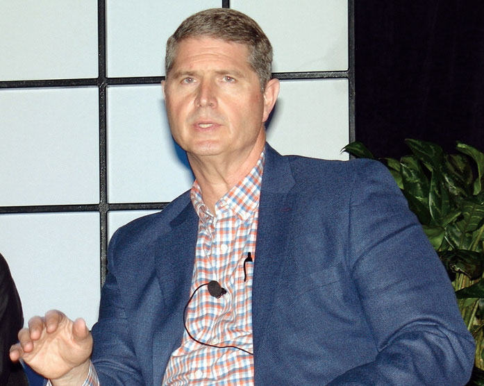 Beall's Inc.'s senior vice president and chief logistics officer, Wayne Varnadore, says supply chain visibility is vital. (Photo by Paul Scott Abbott, AJOT)