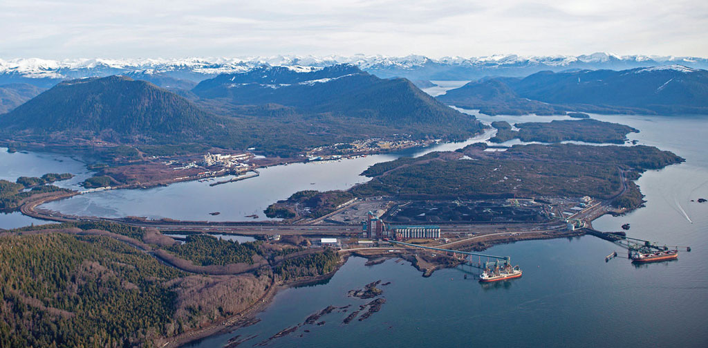 Ridley Island in the Port of Prince Rupert will soon be the site of a large container stuffing operation.