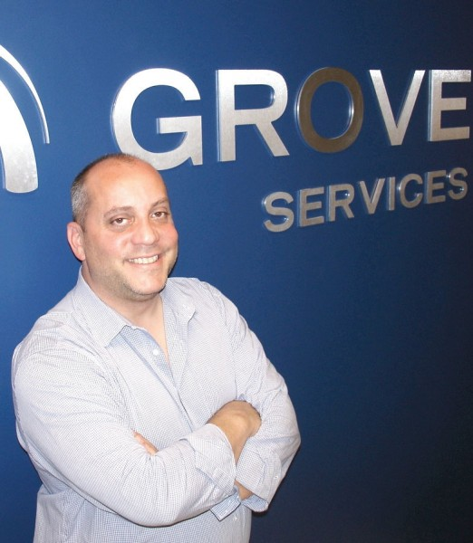 Nick Iacopella, director of logistics for Grove Services Inc., exudes a passion for temperature-controlled logistics.