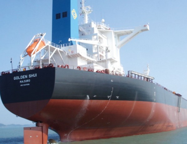 Golden Ocean owns 77 vessels, totaling about 10.6 million dwt. Another six vessels are on order.