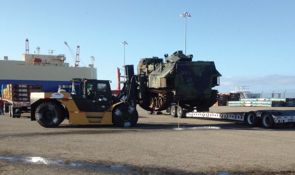 Wiggins produces specialty lift trucks for the US military.
