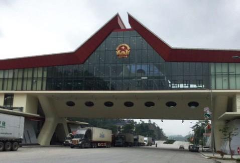 The new ADB financed border facility in Huu Nghi, Vietnam