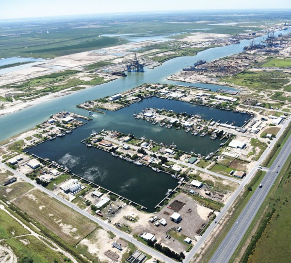 The US Congress authorized the deepening of the 17-mile-long Port of Brownsville shipping channel from 42 feet to 52 feet