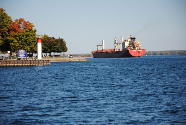 The St. Lawrence Seaway allows vessels to reach the industrial heartland of North America.