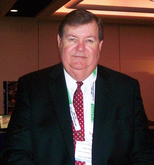 Steve Tyndal, senior director (marketing and business development) of Port of Brownsville