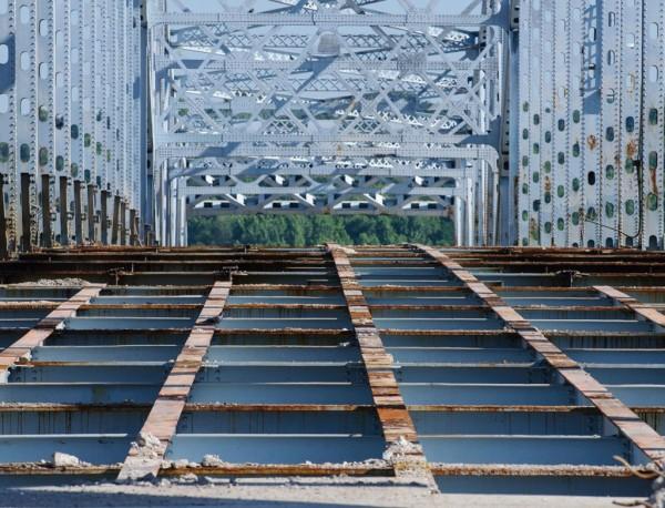 A bridge in St. Louis in need of much repair