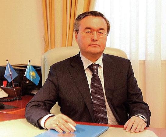 Kazakhstan's First Deputy Foreign Minister Mukhtar B. Tileuberdi