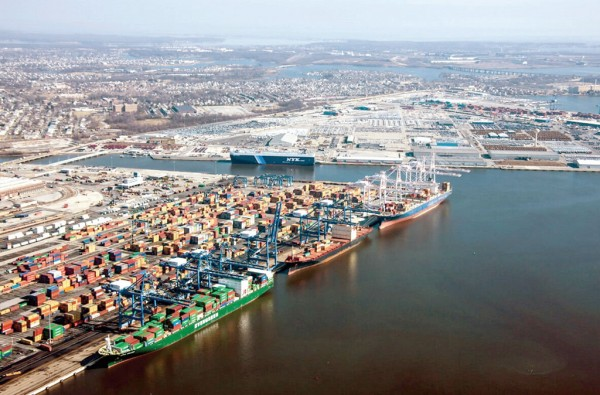 The Port of Baltimore's busy Seagirt Marine Terminal serves as a paradigmatic example of successful engagement of the private sector in public port terminal operations.