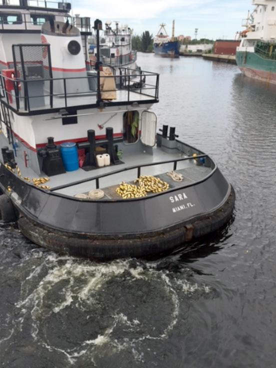 Tugs are critical to safe movement of ships along the Miami River, which could see a doubling in vessel activity.