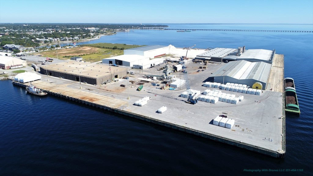 Port Pensacola is advancing a marketing initiative and infrastructure enhancements aimed at increasing activity at Florida's westernmost port.