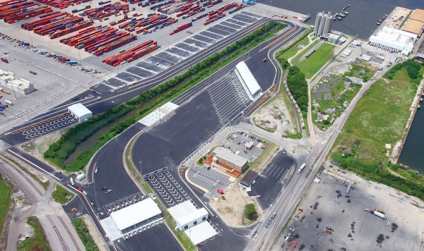 The 26-lane North Gate Complex at Norfolk International Terminals facilitates direct truck access to the Interstate highway system via the recently completed I-564 intermodal connector.