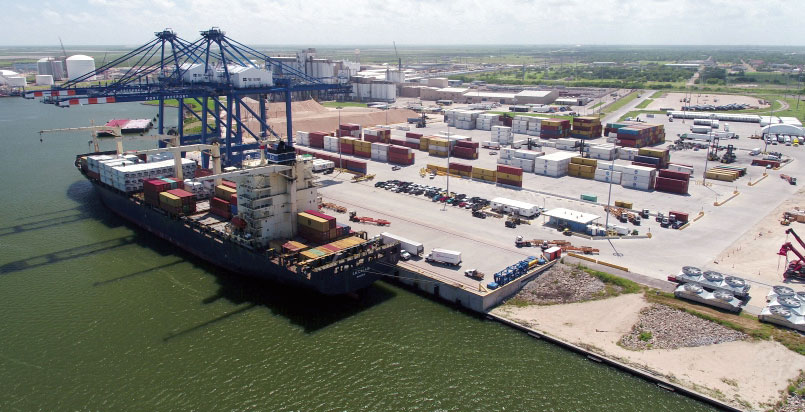 Port Freeport's Velasco Terminal is targeted for significant expansion in 2019.