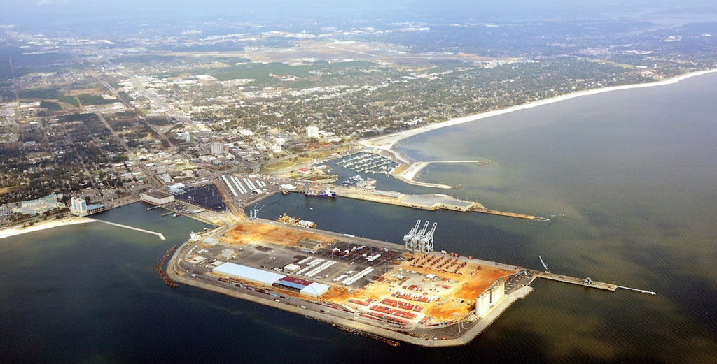At the Port of Gulfport, a $570 million restoration project moves toward completion late this year.