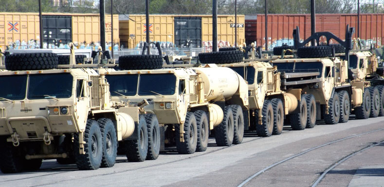 U.S. military cargo movements are taking on increased significance at the Port of Port Arthur, where facility expansion is progressing.