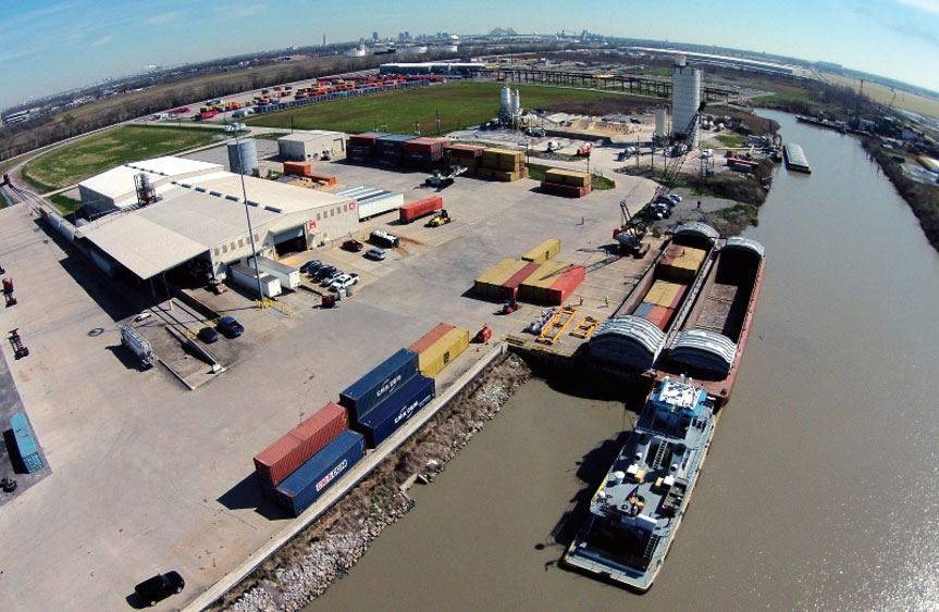 At the Port of Greater Baton Rouge, SEACOR AMH LLC's container-onbarge operation is gaining industry acceptance since its 2016 inception.