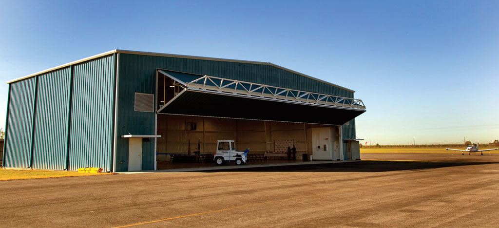 Port of South Louisiana officials are encouraged by the opening of the port-operated hangar at the regional airport.
