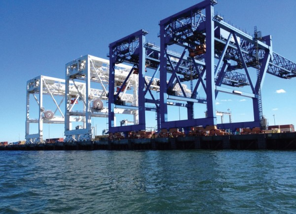 Conley Terminal at the Port of Boston, MA