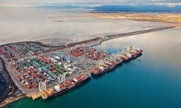 A federal agency recently threw cold water on plans to establish a big new terminal at Vancouver's Deltaport.