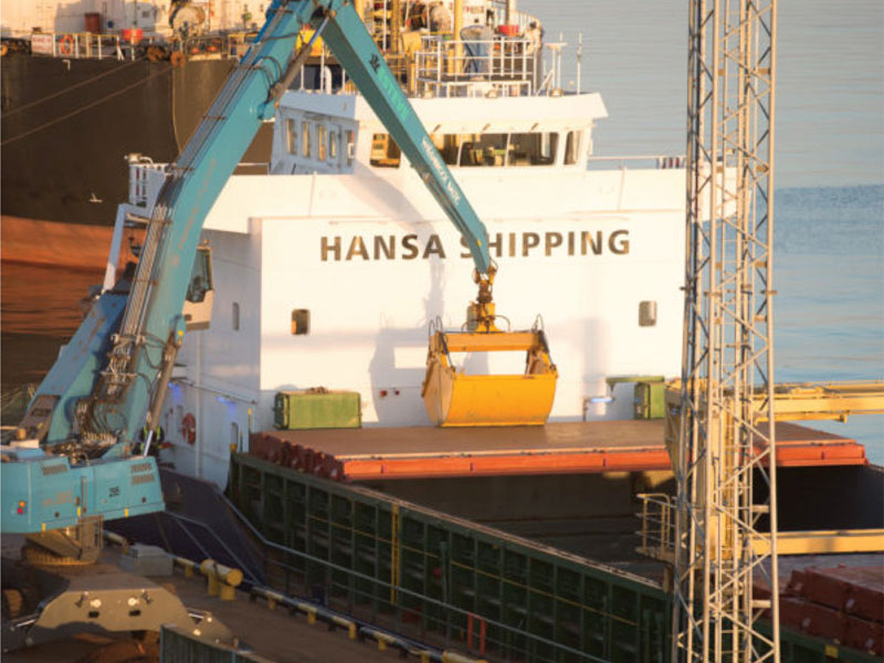 CF&S is now part of the Baltic Marine Logistics Group, which includes Hansa Shipping.