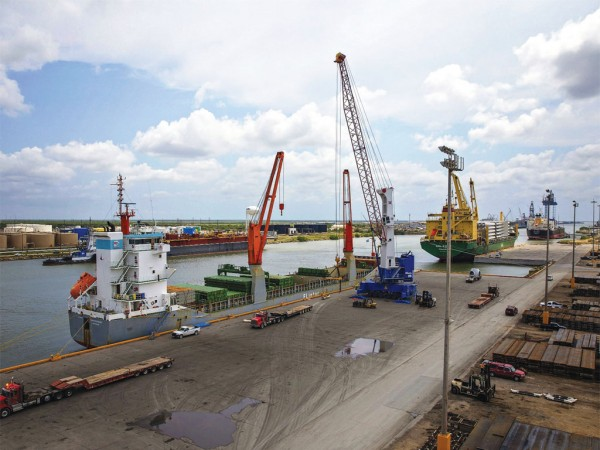 The Port of Brownsville, the only deep-water seaport directly on the U.S.-Mexico border, is the largest land-owning public port authority in the nation with 40,000 acres of land.