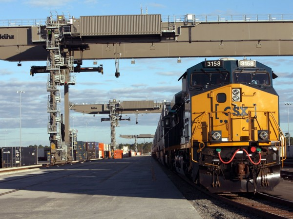CSX intermodal facilities and customers they serve are benefiting from a new companywide operating model, capacity expansions and advanced technologies.